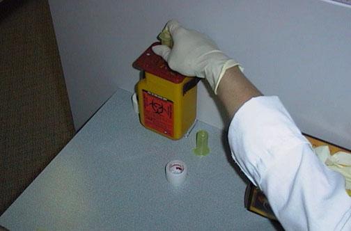 بالصــــور. طريقة سحب الدم من المريض PHLEB12